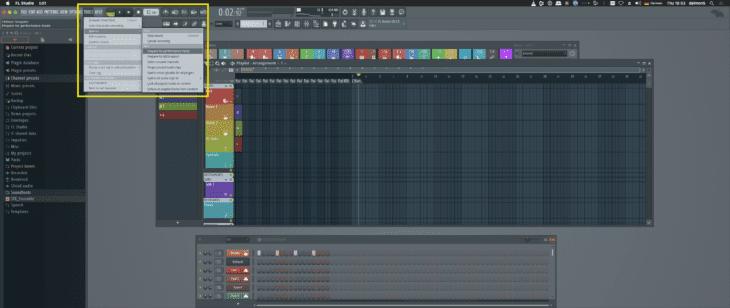 FL Studio - Performance-Mode