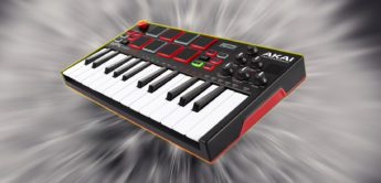 Test: AKAI MPK mini play, USB/MIDI-Controllerkeyboard mit Sounds