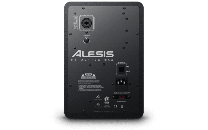 Alesis M1 Active MK3 Rückseite