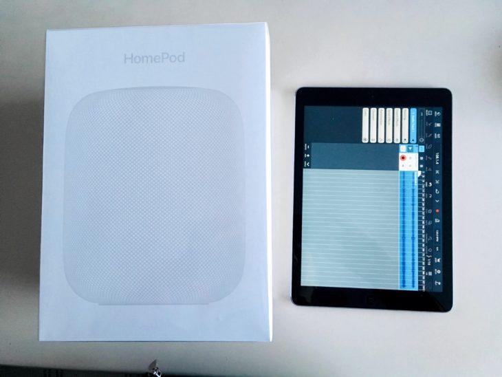 Apple HomePod + iPad Air