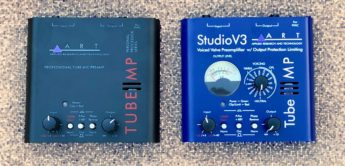Test: ART Tube MP Studio V3 & ART Tube MP, Mikrofonvorverstärker