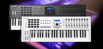 Test: Arturia Keylab 49 MKII, Keylab 61 MKII, USB/MIDI-Controllerkeyboard