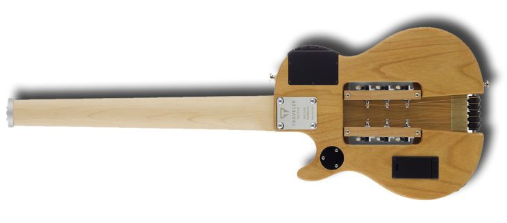 Traveler Guitar Escape MK-III Steel NS back side