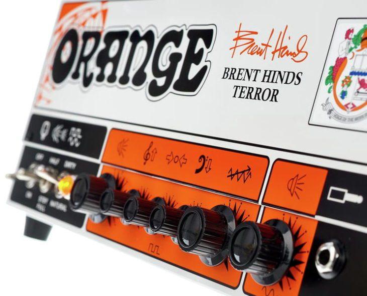 Orange Brent Hinds Terror title