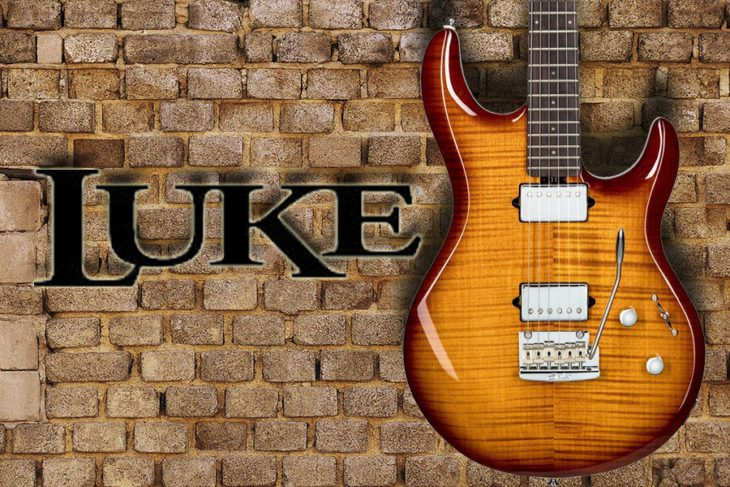 Sterling by Music Man Luke 100 Signature title