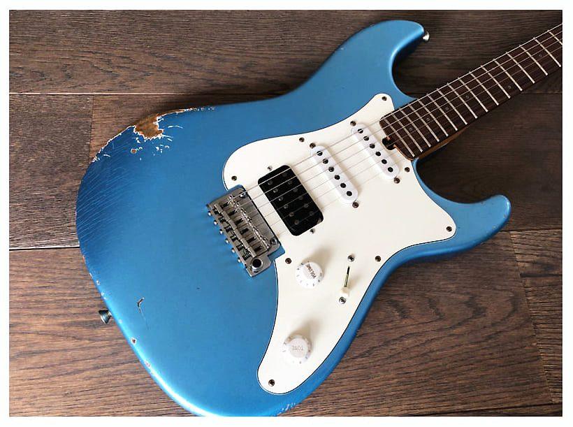 Test Friedman Vintage S Apmph Ss P E Gitarre Amazona De