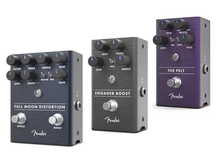 Fender Effektpedale titel