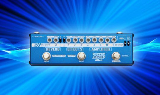 Test: Valeton Dapper Amp Mini, Multieffektgerät