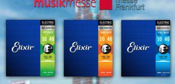 Musikmesse News: Elixir Optiweb und Nanoweb, Gitarrensaiten