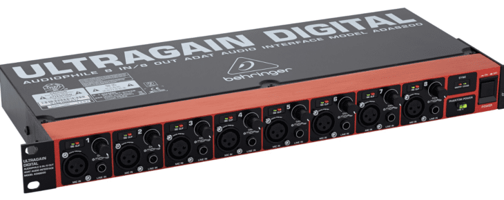 Behringer ADA8200 Ultragain-Front