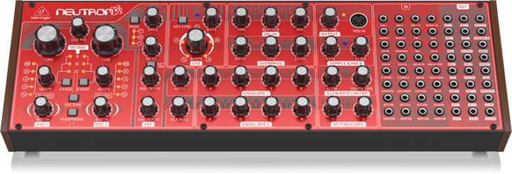 Behringer Neutron - analoger paraphoner Desktop Synthesizer