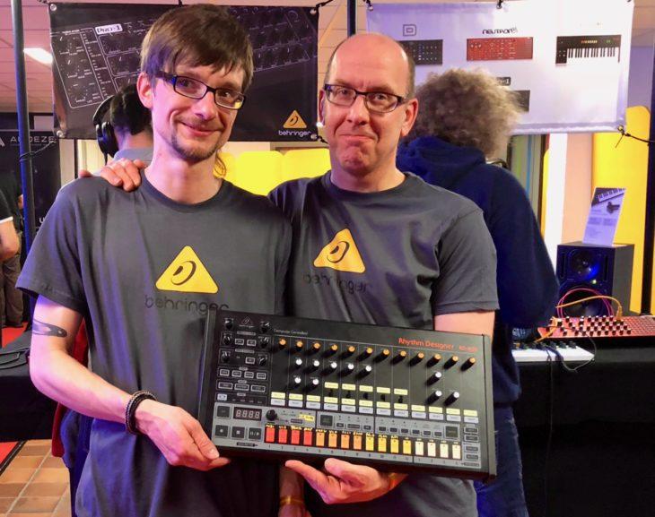 Pete Sadler und Behringer RD-808