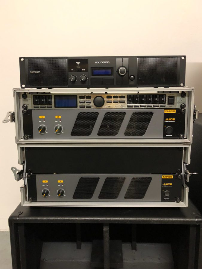 Behringer NX1000D Endstufe im Vergleich