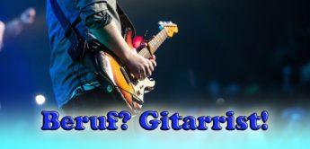 Beruf Gitarrist – ein Leben als Berufsmusiker