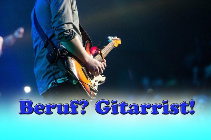 Beruf Gitarrist - ein Leben als Berufsmusiker
