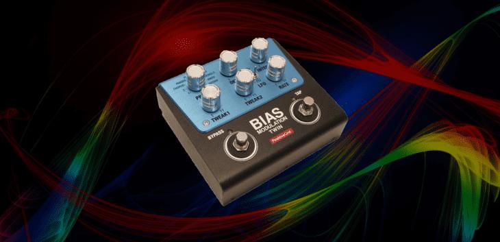 Test: Positive GridBIAS Modulation Twin, Chorus bis Flanger Effektpedal
