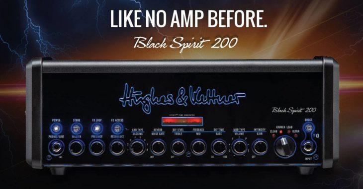 Hughes & Kettner Black Spirit 200 Front