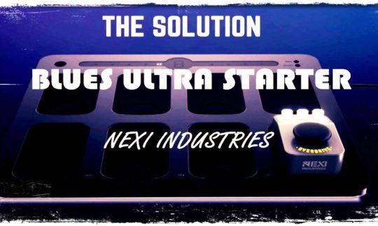Test: Nexi Industries Blues Ultra Starter, Effektgerät