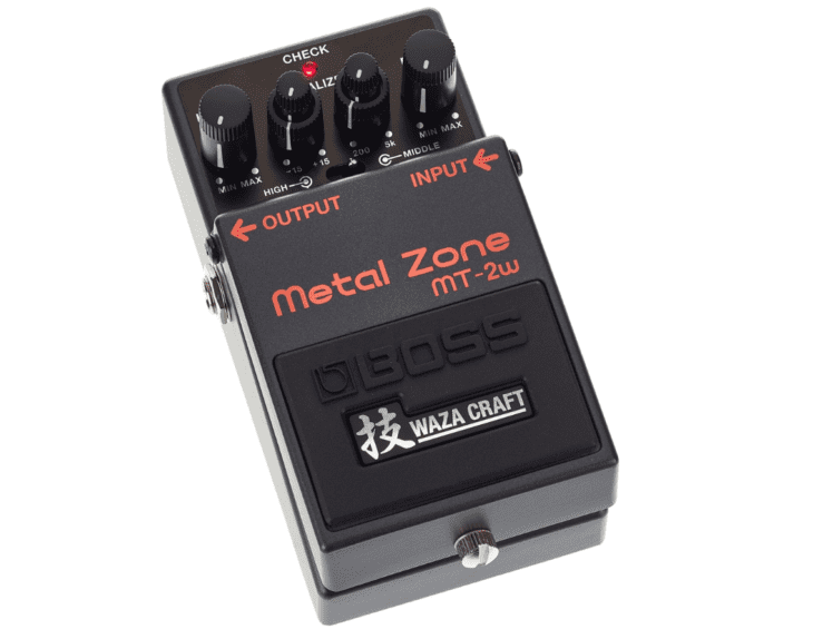 BOSS Waza Metal Zone MT-2w Cover 2