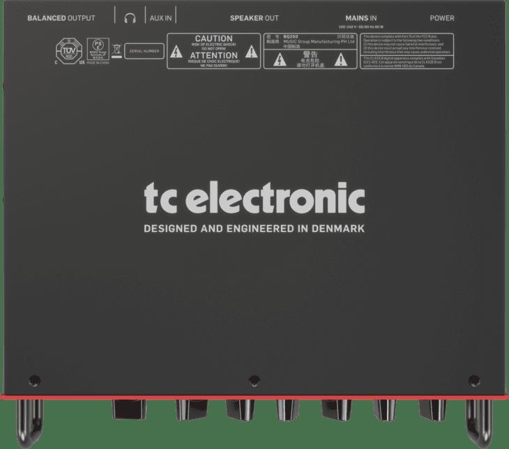 TC Electronic Thrust BQ250 top