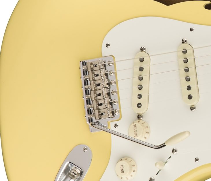 Fender Eric Johnson Thinline Strat vibrato