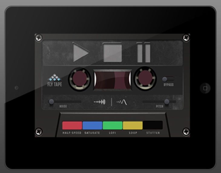MSXII Sound Design Fly Tape