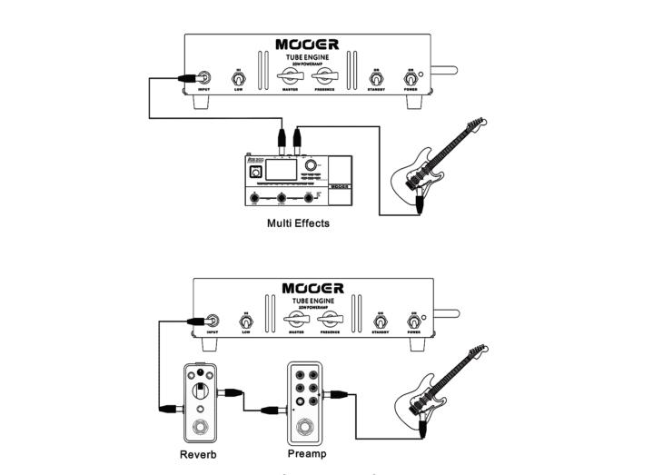 Mooer Tube Engine Schematics
