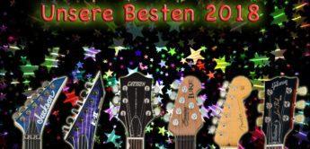 Feature: Die besten E-Gitarren 2018