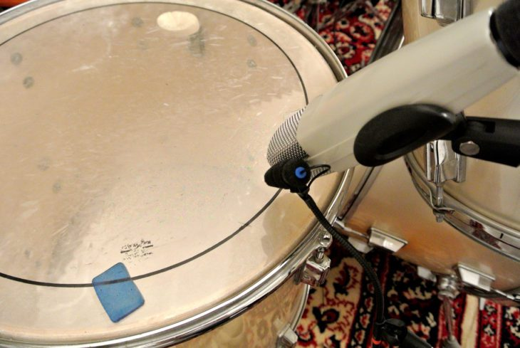Miniaturmikrofone im Studio