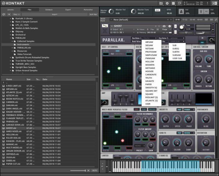 Drumsound and Bassline Smith Parallax OSC