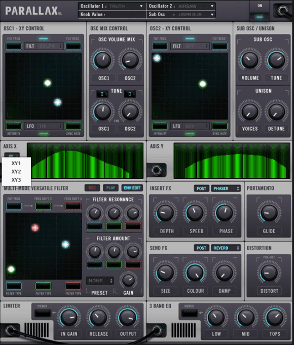 Drumsound and Bassline Smith Parallax -QENV