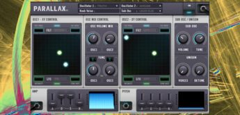 Test: Drumsound Bassline Smith Parallax, Software-Synthesizer