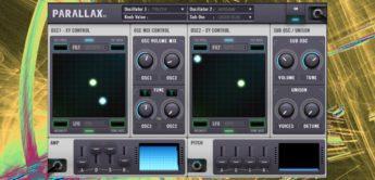 Test: Drumsound Bassline Smith Parallax, Software-Synthesizer