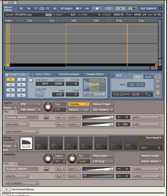 Drumsound and Bassline Smith Parallax Wave-Editor