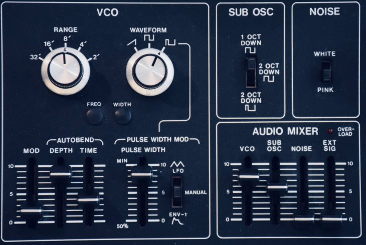 Roland SH-1 VCO