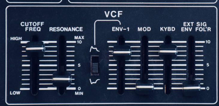 Roland SH-1 Filter