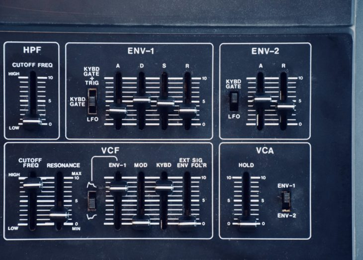 Roland SH-2 Filter
