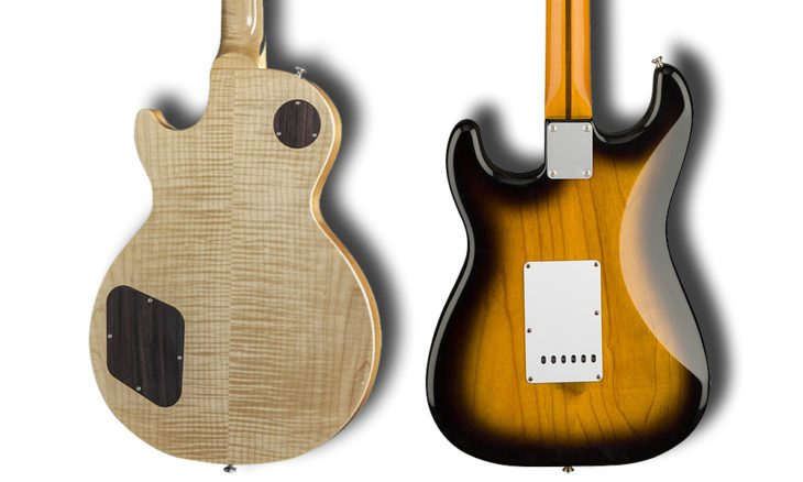 E-Gitarren Typen Hals