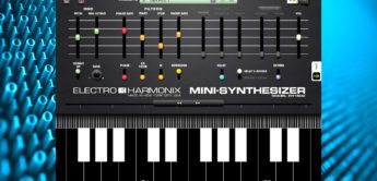 Test: Electro Harmonics Mini Synthesizer, iOS-APP