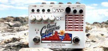 Top News: Electro Harmonix Grand Canyon Delay & Looper, Gitarren Loop Pedal