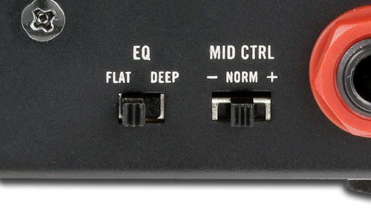 VOX MV50 High Gain EQ Switch