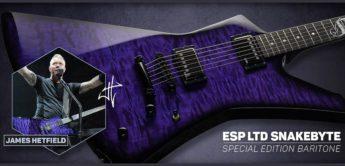 Top News: LTD Snakebyte Baritone, E-Gitarre