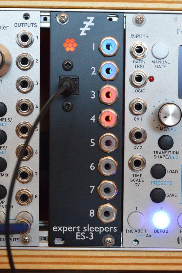 Expert Sleepers ES-3 - ADAT-Eingang, 8 analoge DC-gekoppelte Ausgänge
