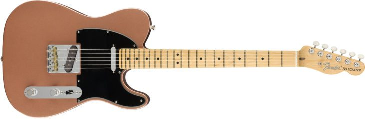 Fender American Performer Telecaster penny front