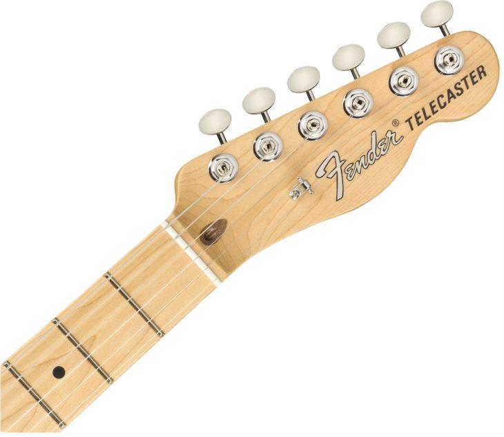 Fender American Performer Telecaster Headstock