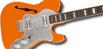 Top News: Fender Tele Thinline Super Deluxe, E-Gitarre