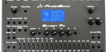 Superbooth 18: FingerSonic Synset FM, Synthesizer