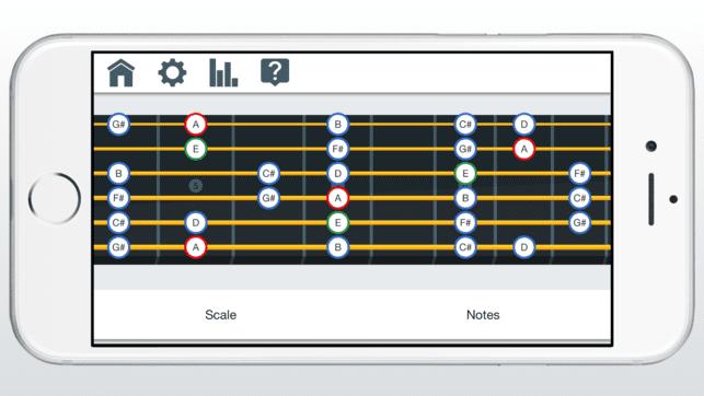 Die besten Apps rund um die Gitarre Fret Trainer