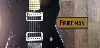 Test: Friedman Cali AMBZHH+HT, E-Gitarre