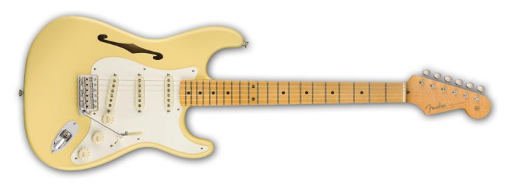 Fender Eric Johnson Thinline Strat front
